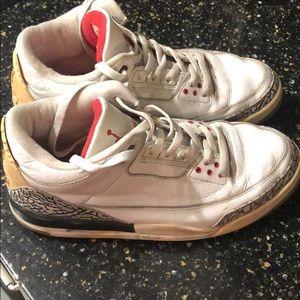 Jordan 3 retro 2003 White Size 10